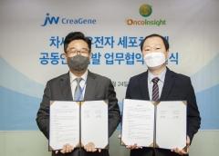 JW크레아젠, 온코인사이트와 차세대 항암 면역세포치료제 연구