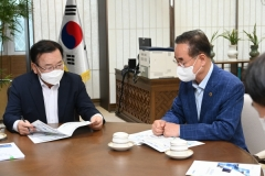 """김총리 """"2030 고용률 회복세···더디지만 성과 나타나"""""""