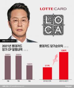 롯데카드, '조좌진 카드' 통했다···재매각 논의 물꼬 전망