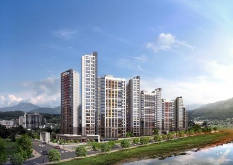현대건설, '힐스테이트 가평 더뉴클래스' 견본주택 개관