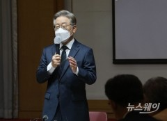 이재명, 부울경도 55% 압승···대장동 악재에도 '대세론'