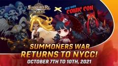 컴투스, 미국 뉴욕 코믹콘 2021 참가···'서머너즈 워' 알린다