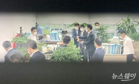 공수처, '고발사주 의혹' 정점식 국민의힘 의원실 압수수색
