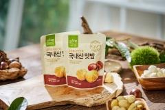 CJ온스타일, 오하루 자연가득 국내산 맛밤 출시