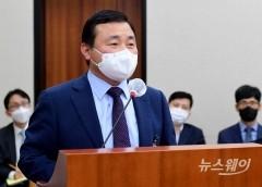 """[2021 국감]갤워치4 영업 꼼수 지적에···노태문 """"국민지원금 결정 시기와 무관"""""""