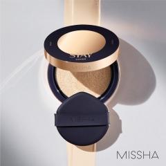 미샤, 지속·커버·밀착력 강화한 '스테이 쿠션' 출시