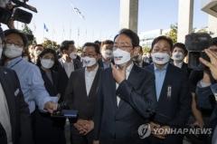 """국민의힘 """"대장동 국정감사 자료 제출하라""""···경기도 항의 방문"""