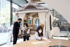 신한은행 디지로그 브랜치서 '게르' 만난다···콜라보 마케팅 진행