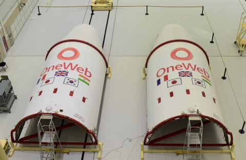 한화시스템 투자 원웹, 태극기 새긴 로켓 발사