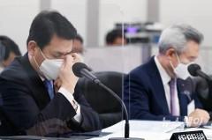 [NW포토]국정감사 출석한 손창완 한국공항공사 사장과 김경욱 인천국제공항공사 사장