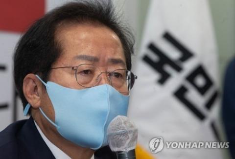"""'PK 당심' 다지기 나선 홍준표 """"깨끗한 후보가 이재명 잡는다"""""""