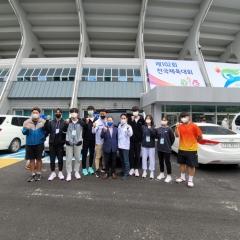 인천시교육청, 제102회 전국체육대회 고등부 선수단 대회 종료