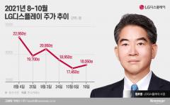 LGD, 두 달 새 임원 20명 자사주 매입···정호영 사장의 고민