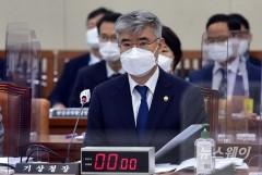 [NW포토]환노위 종합국감 출석한 박광석 기상청장