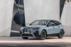 BMW 레이디스 챔피언십 2021에서 'BMW iX' 국내 최초 전시