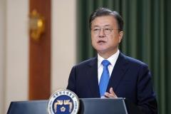 """문 대통령 """"많은 국민이 경찰 신뢰···스스로 더욱 역량 강화해야"""""""