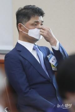 [NW포토]종합국정감사 출석한 김범수 카카오 의장