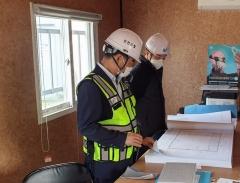 농어촌공사 김인식 사장, 중대재해 예방을 위한 건설현장 불시점검
