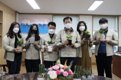 LX광주전남지역본부, '1인 1청렴화분 가꾸기' 캠페인 진행