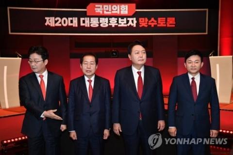 """원희룡·홍준표, 이재명 겨냥 """"도덕성이 중요한 대선"""" 한 목소리"""