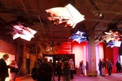 LG전자, 영국 미디어아트 전시회서 '올레드 TV' 마케팅