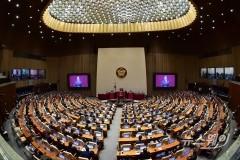 [NW포토]2022년도 예산안 시정연설하는 문재인 대통령