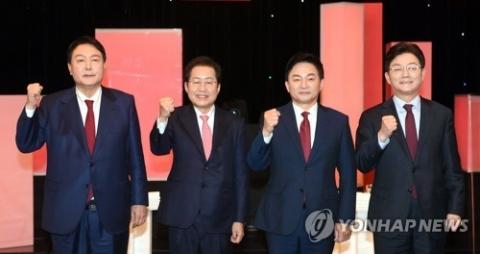 '휴전' 선택한 야 대선토론···충청 민심 '구애' 집중