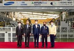 삼성ENG 최성안號, 로봇자동화 철골 생산 성공