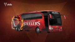 칠리즈, 국내 첫 팬 투표 진행···포항 스틸러스 선수단 버스 디자인 결정