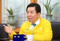 """[인터뷰]구충곤 화순군수 """"첨단의료복합단지 지정, 글로벌 백신 허브 구축"""""""