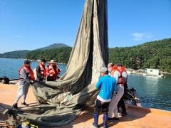 한국어촌어항공단 경남귀어귀촌지원센터, '귀어업인 어업체험 프로그램' 성료
